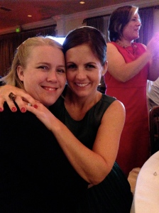 Erica and I at a fundraiser for Katie's Clinic last year.
