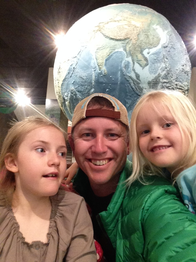 It was my birthday so Jared took the girls to the science museum while I took some time to breath deeply.